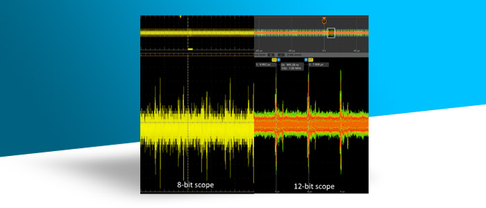 """technology that limits noise and increases """"useful"""" resolution in our 4, 5 and 6 Series oscilloscopes"""